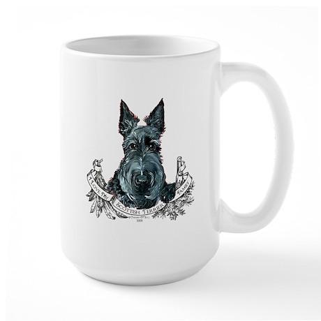Scottish Terrier Love Large Mug