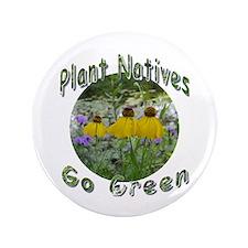 """Unique Native plants 3.5"""" Button (100 pack)"""