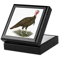 Chocolate Tom Turkey Keepsake Box