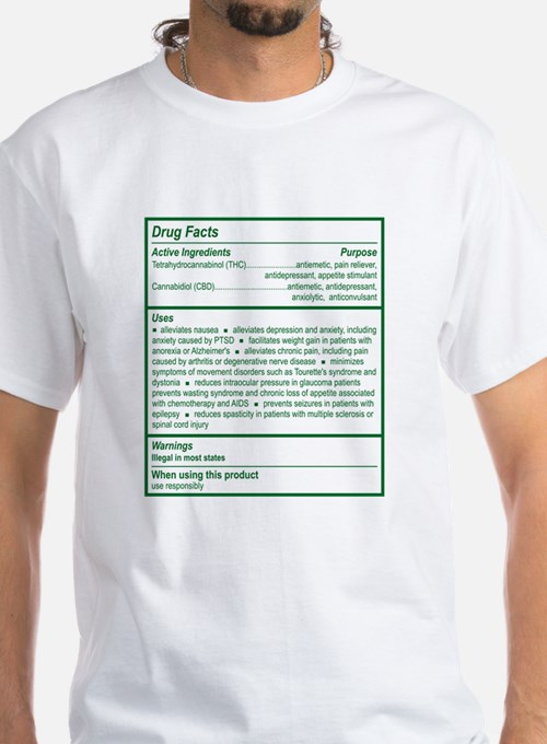THC Drug Facts Shirt