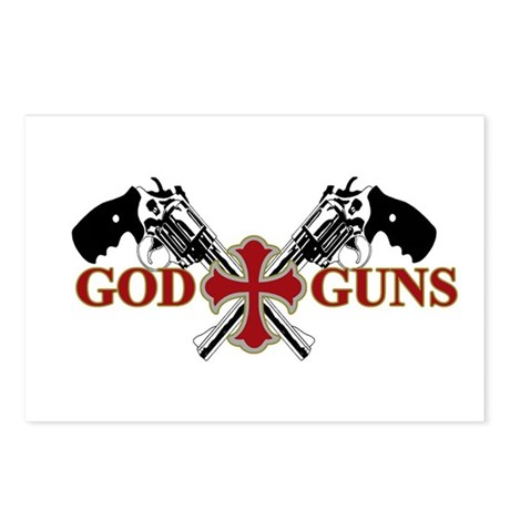 God and Guns Postcards (Package of 8)