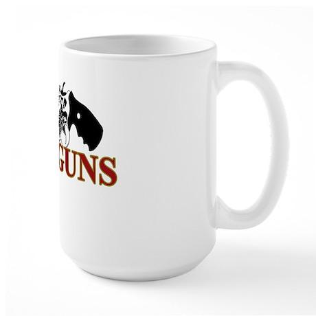 God and Guns Large Mug
