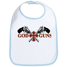 God and Guns Bib