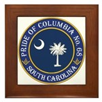 Pride of Columbia Lodge Framed Tile