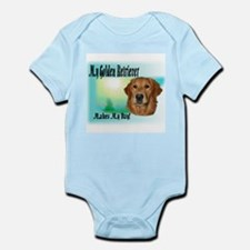 Golden Retriever Gifts Infant Creeper