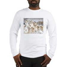 goldens_10X8_feather Long Sleeve T-Shirt