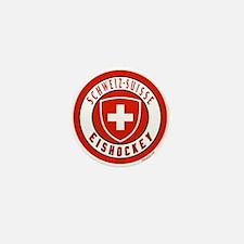 Switzerland Ice Hockey Mini Button