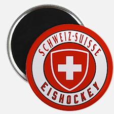 Switzerland Ice Hockey Magnet
