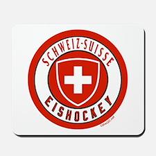 Switzerland Ice Hockey Mousepad