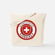 Switzerland Ice Hockey Tote Bag