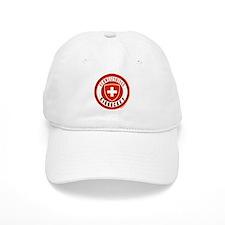 Switzerland Ice Hockey Baseball Cap