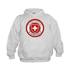 Switzerland Ice Hockey Hoodie