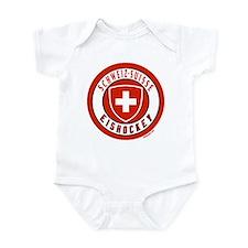 Switzerland Ice Hockey Infant Bodysuit