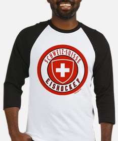 Switzerland Ice Hockey Baseball Jersey