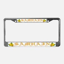 SAMHAIN License Plate Frame