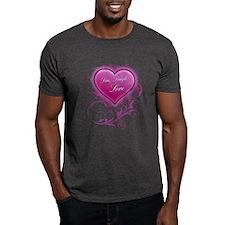 Live, Laugh Love Floral Grung T-Shirt
