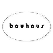 Bauhaus Oval Decal