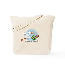 Stork Baby Brazil Tote Bag