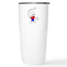 Flute Cat Travel Mug