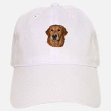 Head Study Golden Retriever Baseball Baseball Cap