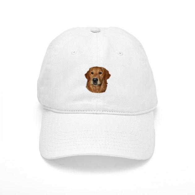 Adult golden retriever hat