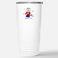 Clarinet Cat Travel Mug