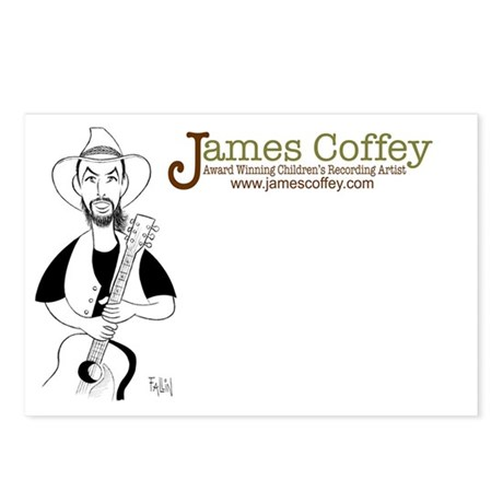 James Coffey - Wall Street Jo Postcards (Package o