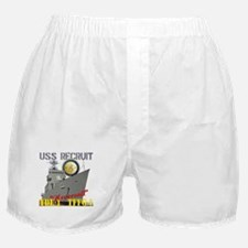 USS Recruit Boxer Shorts