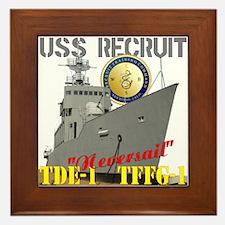USS Recruit Framed Tile