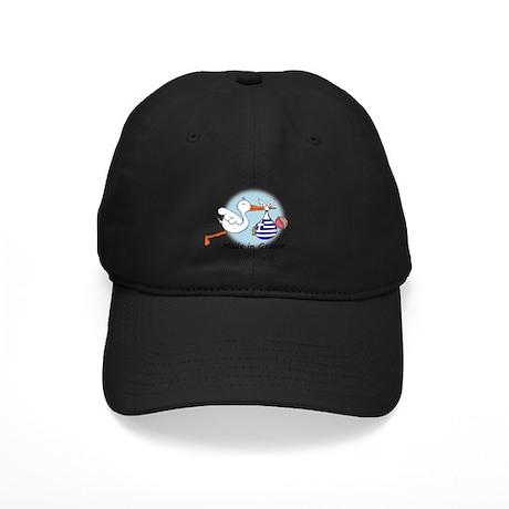 Stork Baby Greece Black Cap