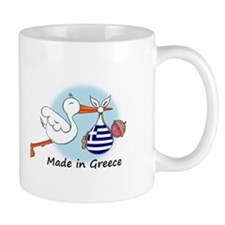 Stork Baby Greece Mug