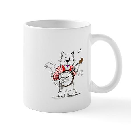 Banjo Cat Mug