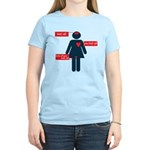 who to listen to Women's Light T-Shirt
