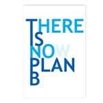 no plan b Postcards (Package of 8)