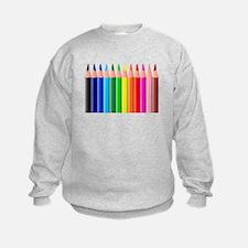 Color Pencils Sweatshirt