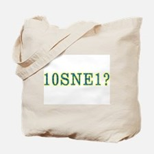 Funny Puzzled Tote Bag