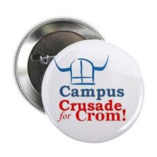 """campus crusade for crom! 2.25"""" Button (10 pack)"""