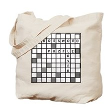 Crossword Puzzle Lover Tote Bag