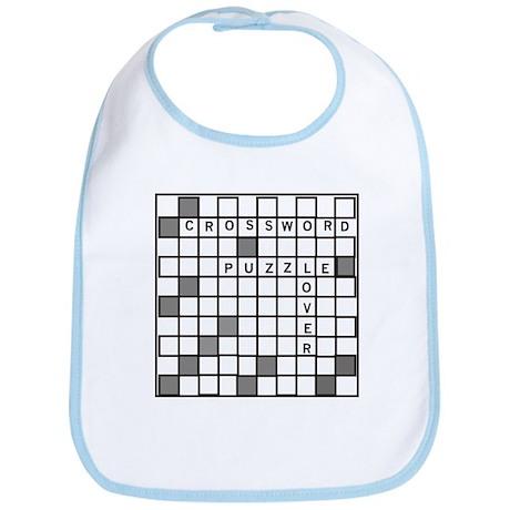 Crossword Puzzle Lover Bib