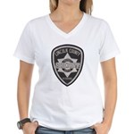 Lincoln County Deputy Sheriff Women's V-Neck T-Shi