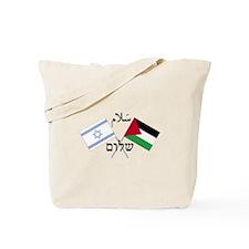 Peace Israel & Palestine Tote Bag