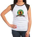 You Hug 'Em - We Cut 'Em Women's Cap Sleeve T-Shir