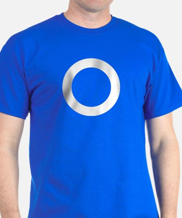 CRAZYFISH white circle T-Shirt