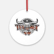 TexMex FM Dallas Gear Ornament (Round)