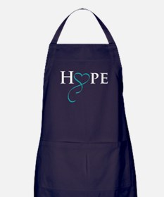 Cute Polycystic kidney disease support Apron (dark)