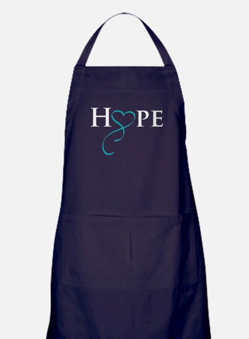 Cute Polycystic kidney disease activist Apron (dark)