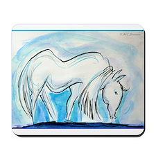 Horse, Art, Mousepad