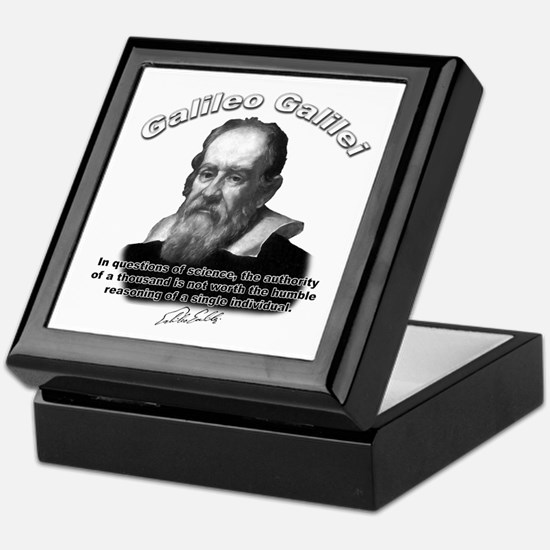 Galileo Galilei 03 Keepsake Box
