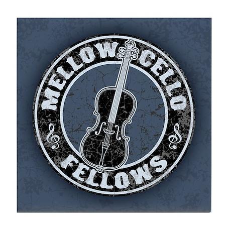 Mellow Cellos II Tile Coaster