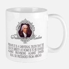 James Madison on Dangers Real Mug
